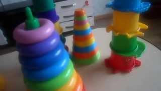 Детские игрушки: обзор пирамидок