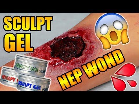 NEP WOND MET SCULPT GEL HALLOWEEN MAKE UP TUTORIAL - Sheling