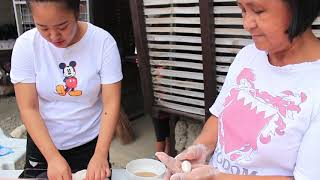 How to cook Palitaw with Lola Santa
