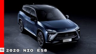 Nio released the all-new flagship smart electric suv es8. featuring a 160kw permanent magnet motor and 240kw induction with an intelligent a...