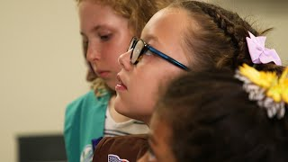 Girl Scouts Earn Information Security Badges