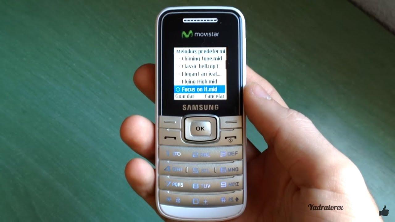 Samsung GT-E1050 review (ringtones, game, wallpapers…)