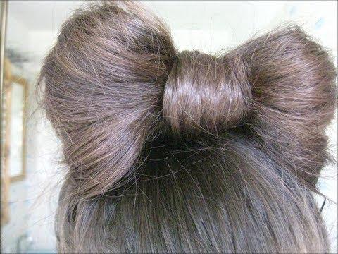 How To The Hair Bow Bun