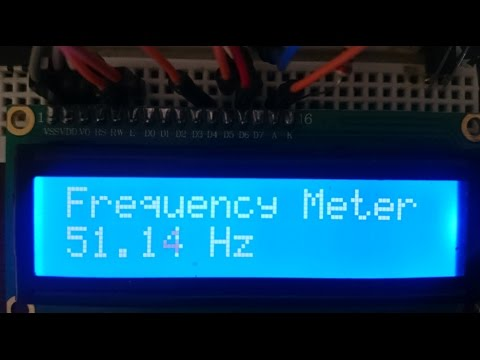 Ac 220v Frequency Meter Counter Using Arduino