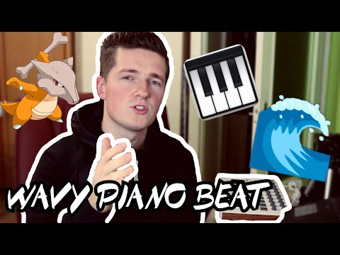 I Made a WAVY PIANO BEAT FROM SCRATCH   How to make melodic beats (Ableton Live Tutorial)