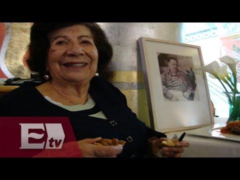 Guadalupe Rivera hija de Diego Rivera  / Entre mujeres la entrevista