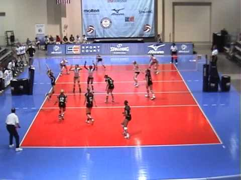 2010 16O Nebraska Jr v Skyline (Finals) Set 1