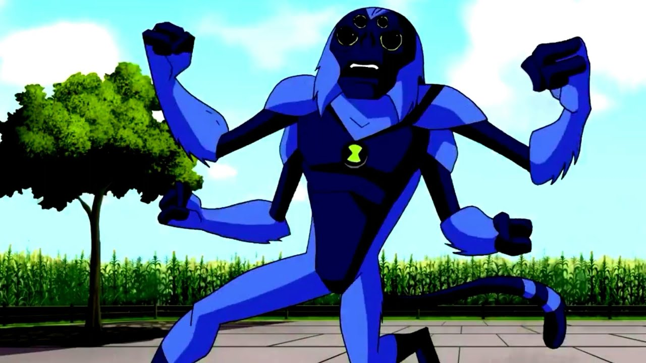 Ben 10 Alien Force Spidermonkey Transformation Hd Youtube