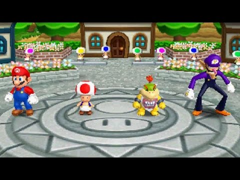 Mario Party Island Tour - Perilous Palace Path