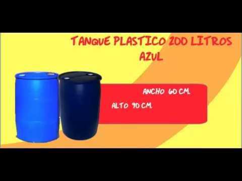 Tanque plastico 200 litros youtube for Piscicultura en tanques plasticos