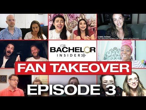 Bachelor Insider Fan Takeover! Bachelorette S14 Episode 3 Recap