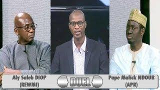 Duel (31 août 2018) avec Aly Saleh DIOP (REWMI) et Pape Malick NDOUR (APR)
