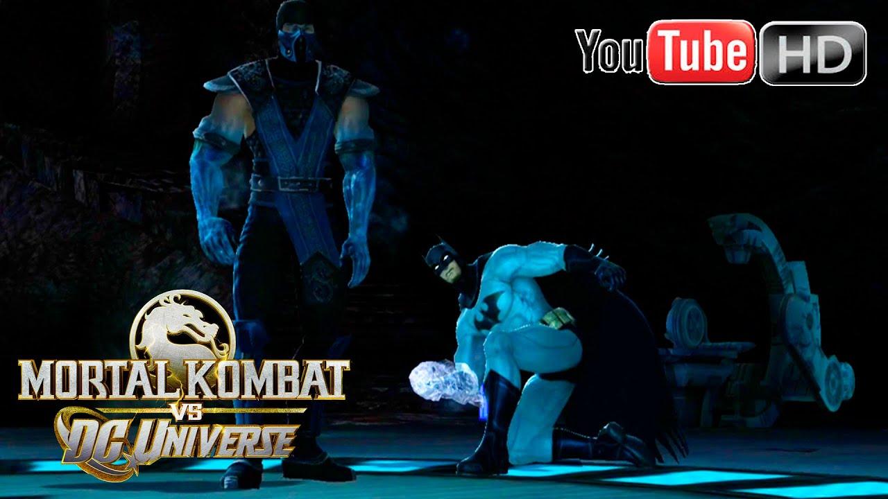 mortal kombat vs dc universe xbox 360 sub zero vs