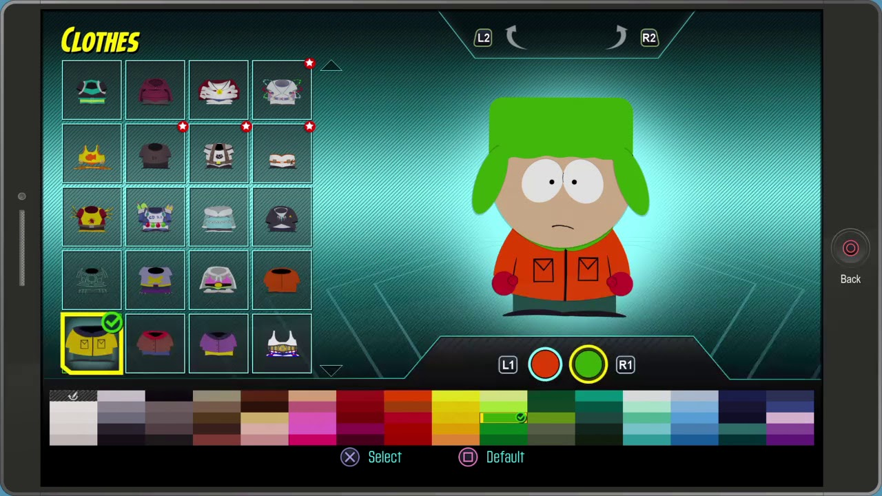 South Park™: The Fractured But Whole Stan, Kyle, Kenny, and Wendy outfits -  YouTube