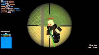ROBLOX: Forces Fantômes - Sniper Dragunov Svu
