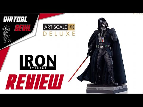 IRON STUDIOS - DARTH VADER DELUXE - 1/10 !!! UNBOXING & REVIEW !!!