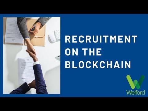 Recruitment on the Blockchain