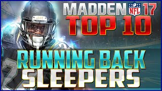 Madden NFL 17 Top 10 RB Sleepers