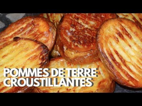 Pommes de terre croustillantes au four recette 113 youtube - Pommes de terre coupees au four ...