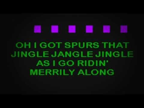 Jingle Jangle Jingle - Kay Kyser [Karaoke FIXED]
