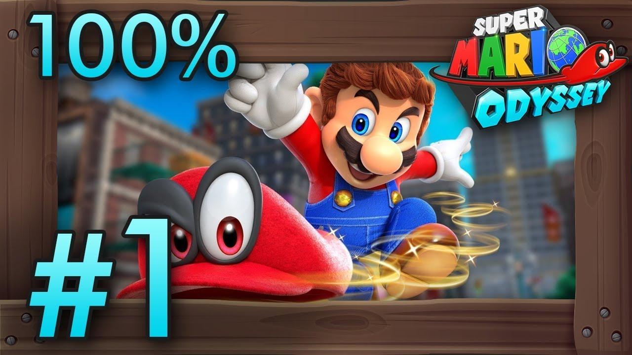 Walkthrough Odyssey Super Mario