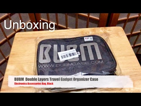 unboxing:-best-gadget-bag-organizer?---bubm-double-layers-travel-gadget-organizer-case-bag