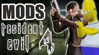 Os Mods Mais Insanos de Resident Evil 4!