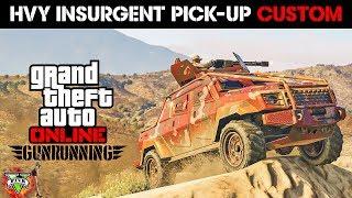 GUNRUNNING DLC SPENDING SPREE!! - NEW INSURGENT CUSTOM - GTA 5 GUNRUNNING DLC (4K Stream) thumbnail