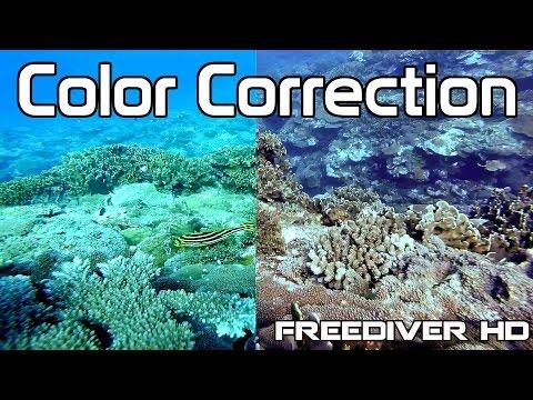 Underwater Color Correction In Sony Vegas | GoPro Protune