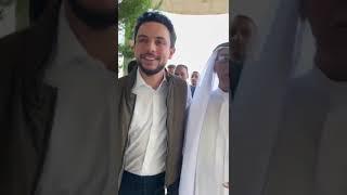 المدينة نيوز : الامير حسين يلتقي عدد من ابناء عشائر العجارمة2