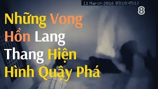 Những vong hồn lang thang hiện hình quậy phá | Scary Ghost Attack People Caught on Camera
