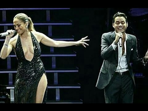 Jennifer Lopez Joins Her Ex Husband Marc Anthony on Stage at Radio City Music Hall