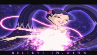 Winx Club:Musa Enchantix Transformation! Nick Dub! HD!