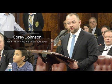 Meet Corey Johnson: Your New York City Council Speaker