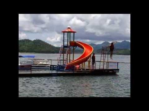 พาราไดซ์ ไอร์แลนด์ รีสอร์ท ที่พักแพริมน้ำสวยๆที่กาญจนบุรี