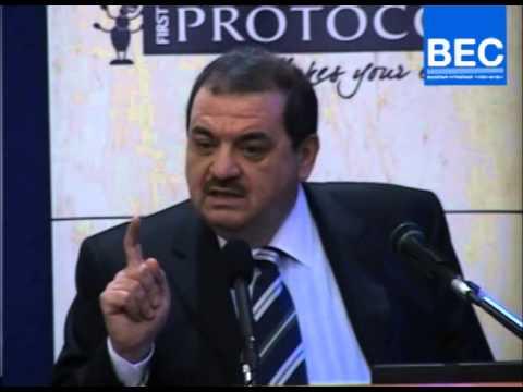 Mr. Hassan Jaroudi Speech - President of the Union Shipping Agencies