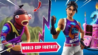 FREE RECOMPENSES FOR WORLD CUP FORTNITE - PROxAM - 2 YEARS OF FORTNITE