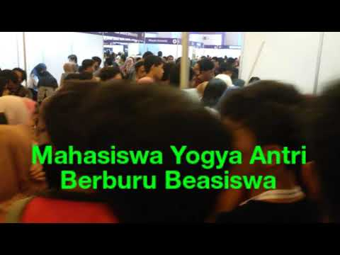 Indonesia Scholarship Festival, Mahasiswa Antri Berburu Beasiswa