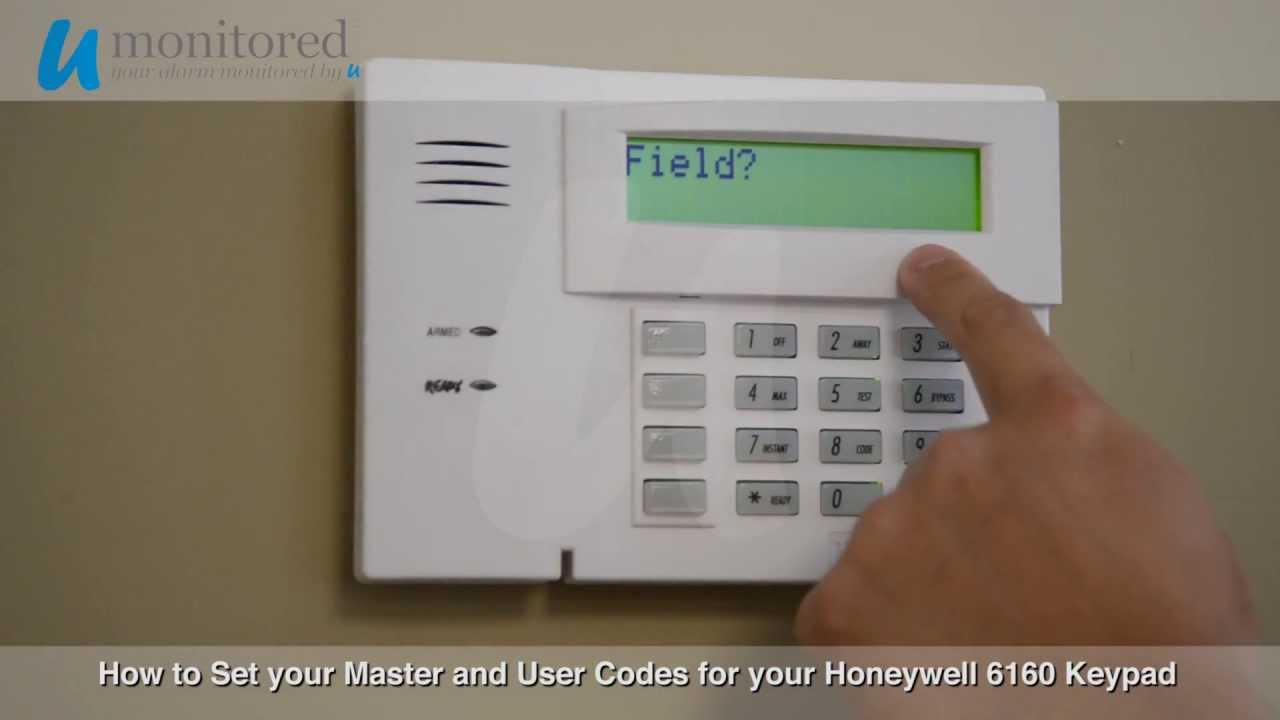 Ademco 6160v Keypad Security Keypad System ADT