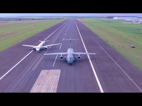 Pilots Warm Up | Paris Airshow 2017