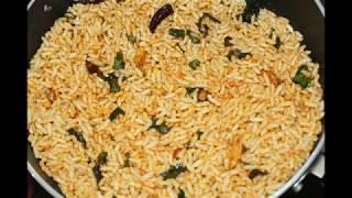 kara mandaki recipe/oggarane mandaki recipe in kannada