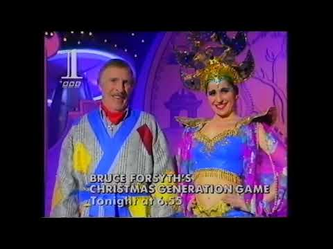 BBC1 Junction/continuity - Christmas Eve 1993 (part 1 Of 2)
