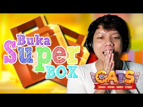 🔥 PENASARAN iSi SUPER BOX??  | C.A.T.S CRASH ARENA TURBO STA