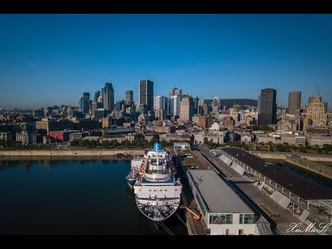 Trip to Montreal and Quebec City drone video 4K