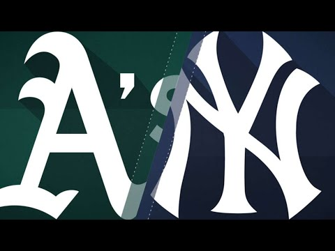 Stanton powers the Yankees past the As: 5/13/18