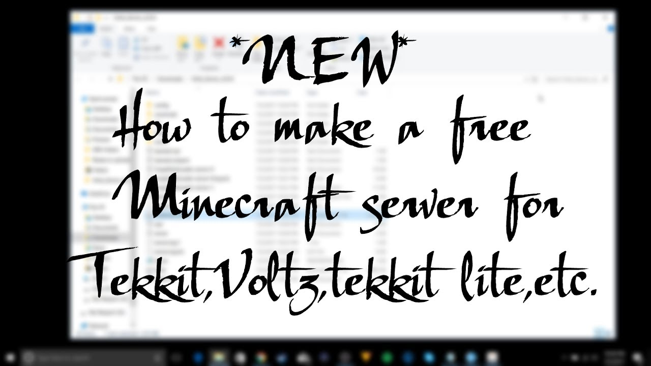 NEW How To Make A Free Minecraft Server For Tekkit Voltz Tekkit - Minecraft server erstellen neuer launcher