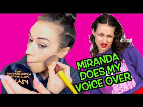 miranda sings voice youtube
