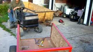 Building Trailer For Tractor