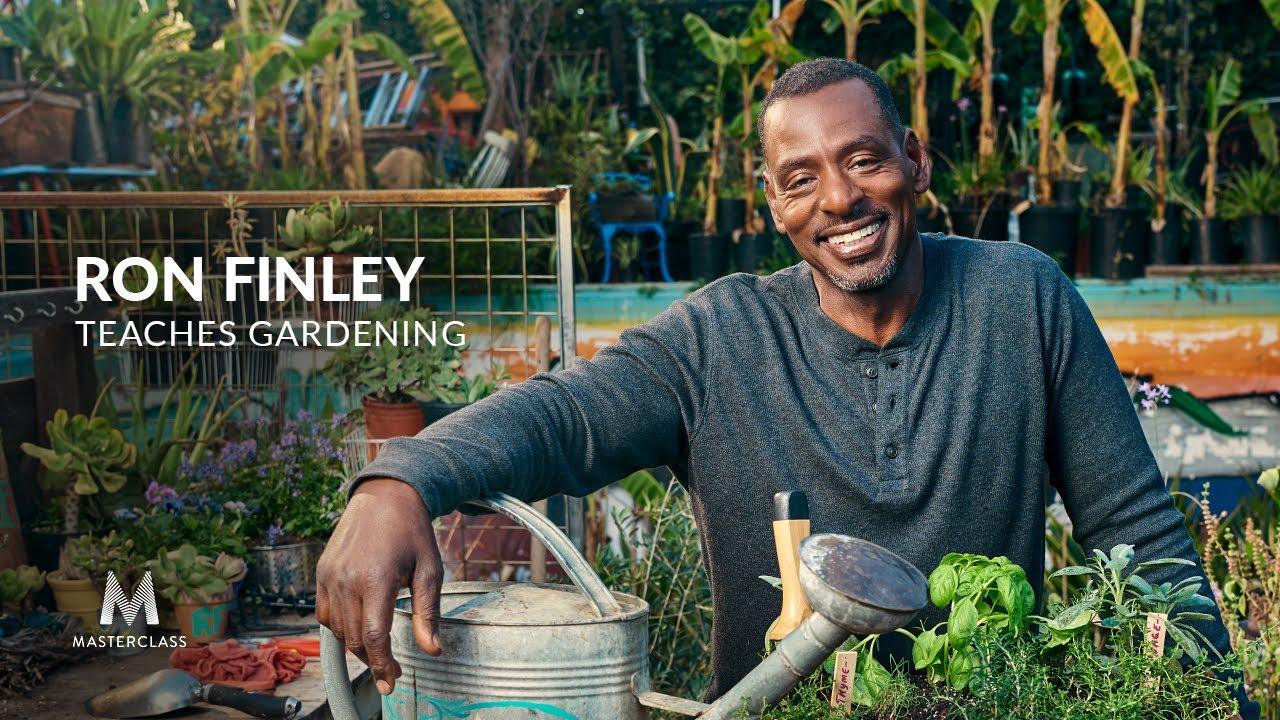 Ron Finley Teaches Gardening Official Trailer Masterclass