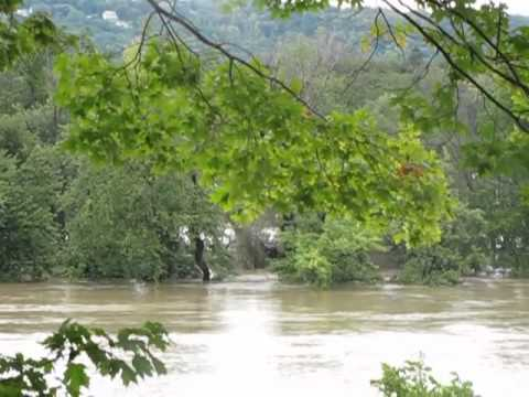 Flood Of 2011 In Vestal, NY